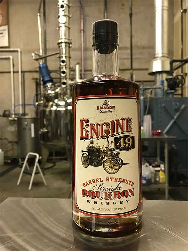 Engine 49 Barrel Strength Straight Bourbon