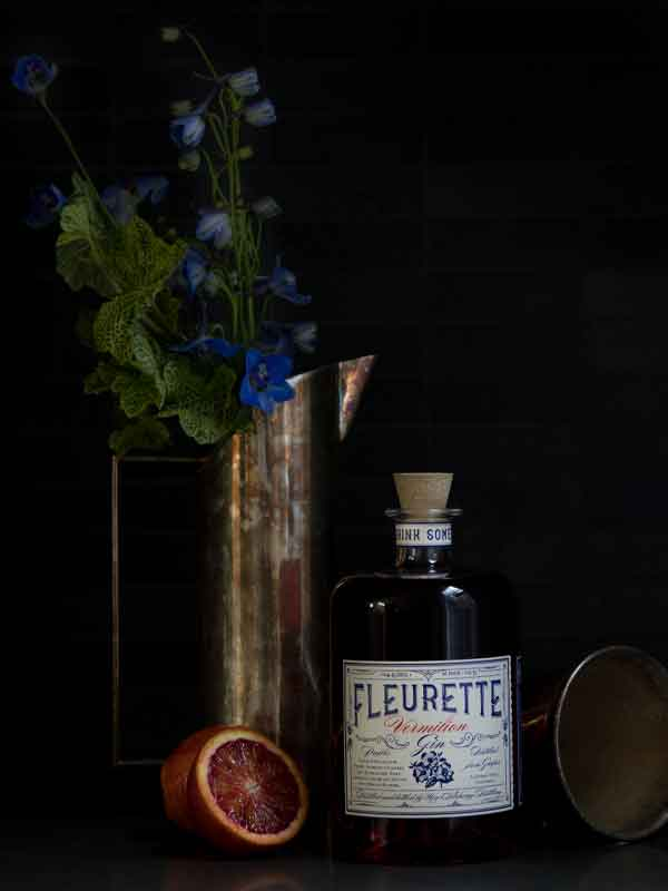 Fleurette Vermillion Gin - New Alchemy Distilling