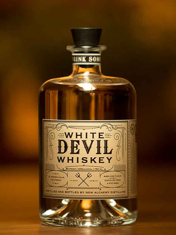 White Devil Whiskey - New Alchemy Distilling